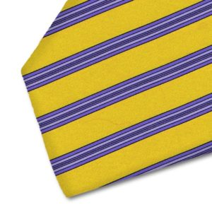 Tailored handmade silk tie by Italo Ferretti